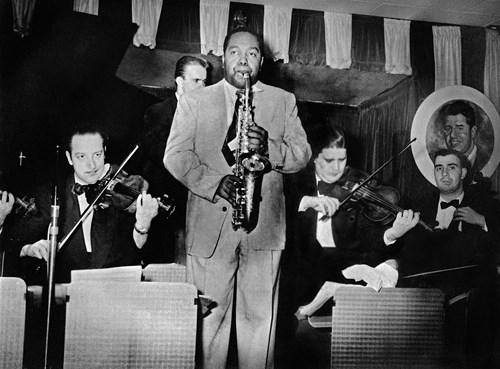 Charlie Parker et orchestre à cordes au Birdland, New York,1951