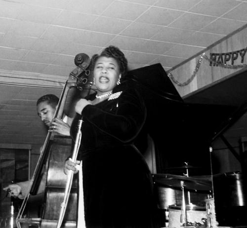 Ella Fitzgerald et Ray Brown, au Birdland, New York, 1952