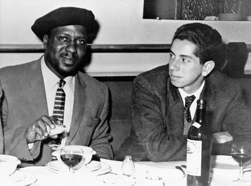 Thelonious Monk et Marcel Fleiss, Londres, 1954