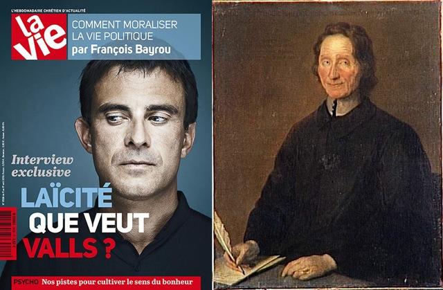 Manuel Valls et Nicolas Malebranche