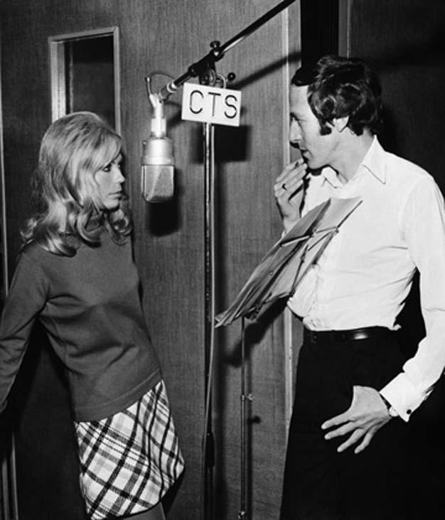 John Barry et Nancy Sinatra
