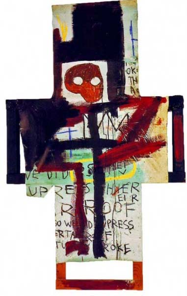 Jean-Michel Basquiat, Crisis X, 1982 © The Estate of Jean-Michel Basquiat / ADAGP, Paris 2013