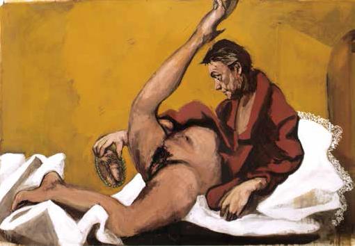 """Gérard Garouste, """"Véronique"""", 2005, Gouache sur papier 120 x 180 cm Collection privée, Bruxelles, courtesy Galerie Daniel Templon, Paris © Bertrand Huet / TUTTI Courtesy Galerie Daniel Templon, Paris / ADAGP, Paris 2013"""