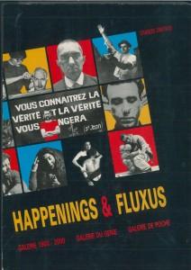 Happenings, Fluxus, Paris, Galerie 1900-2000, Galerie du genie, 1989