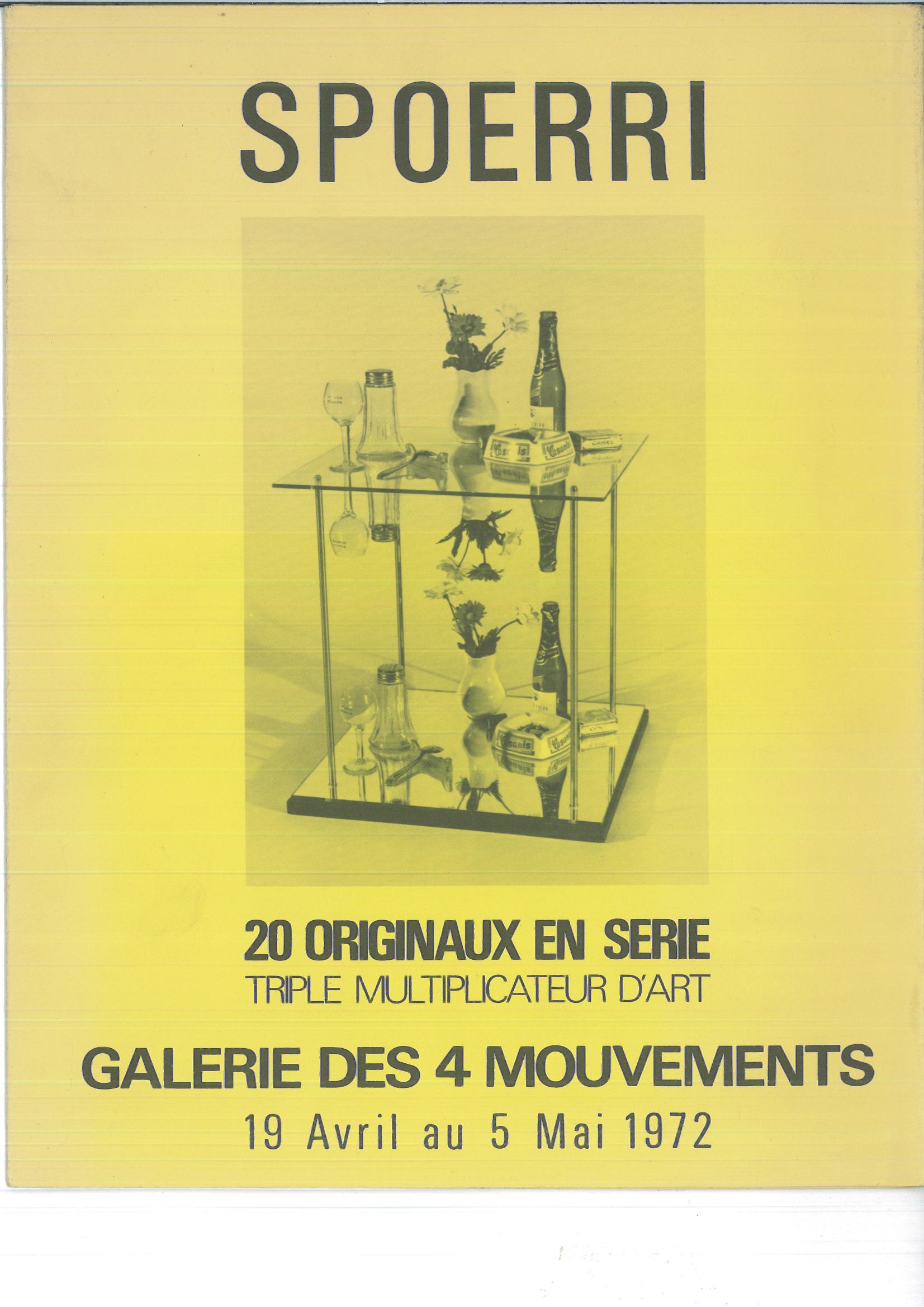 14-1-Spoerri-20-originaux-en-serie-triple-multiplicateur-d'art-Paris-Galerie-des-4-Mouvements-1972