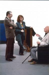 Marcel Fleiss, Clo Fleiss et Marcel Jean, photo V Raspolini