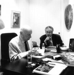 Marcel Jean et Marcel Fleiss, Photo Philippe Bonan