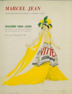 Marcel Jean, Costumes de Music-Hall, Cabaret1928, Paris, Galerie 1900-2000,1989