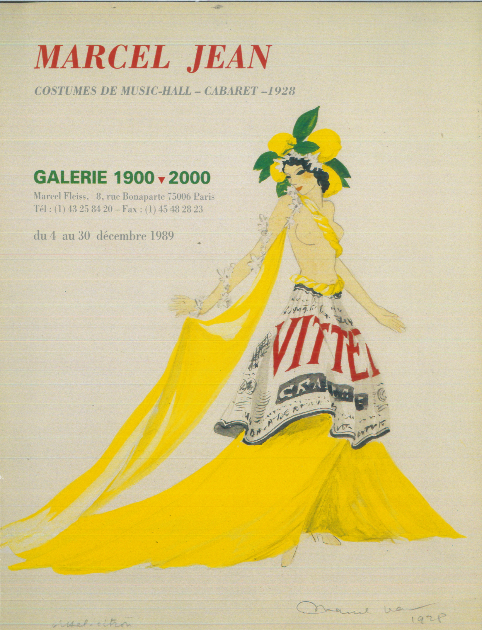 16-6-Marcel-Jean-Costumes-de-Music-Hall-Cabaret-1928-Paris-Galerie-1900-2000-1989