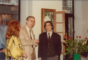 Clo Fleiss, Marcel Fleiss et George Condo