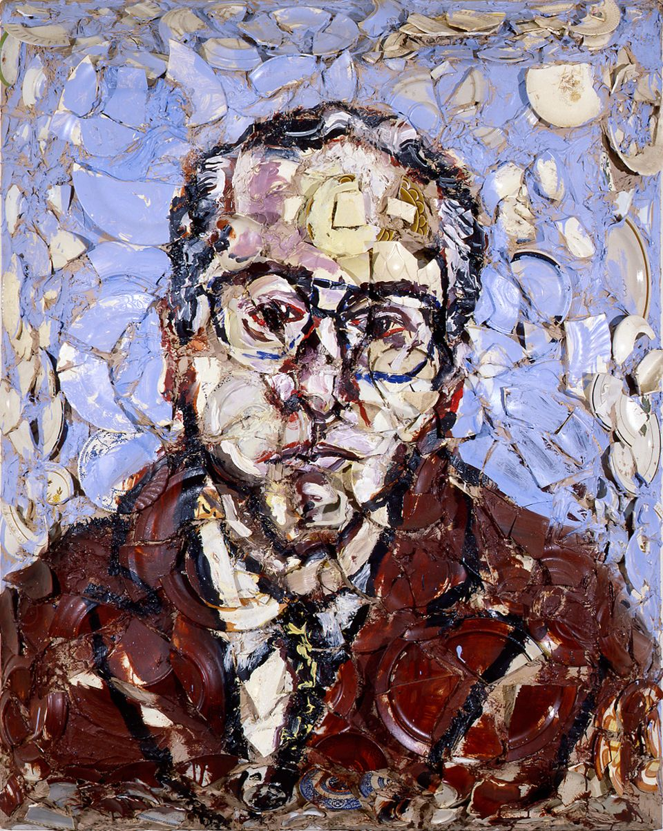Le portrait de Marcel Fleiss.