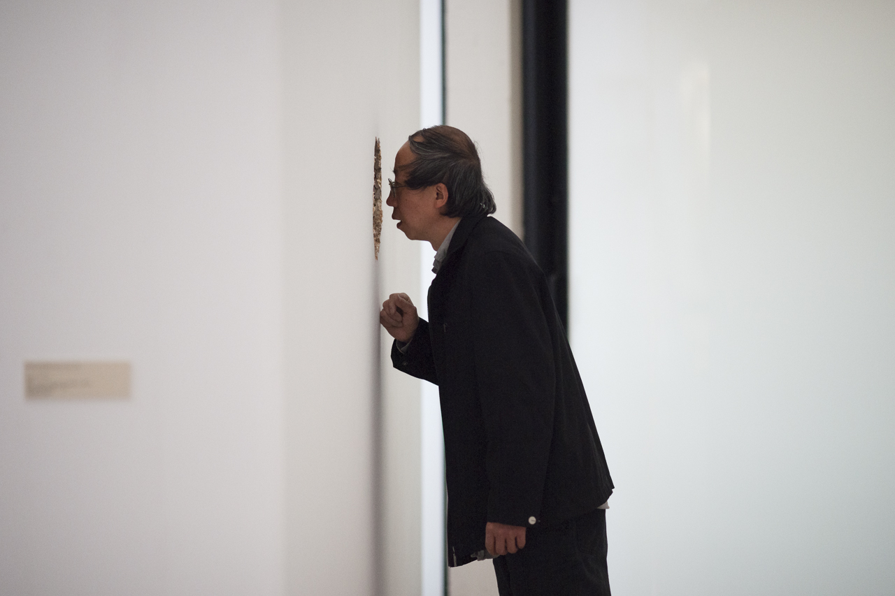 "Huang Yong Ping finalise sa ""Caverne de Platon"", Fondation Maeght, photo Yann Revol"