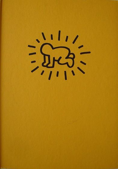 Catalogue de l'exposition de Keith Haring chez Lucio Amelio à Naples en 1983.