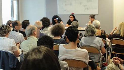 Le 6 Juillet 2013, Lancement du Conseil des ex musulmans de France, photo Majd Eid