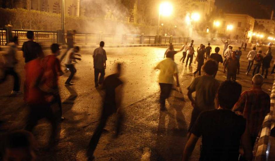 Nouvelles manifestations aux proximités de la place Tahrir, au Caire, ce Week-end.