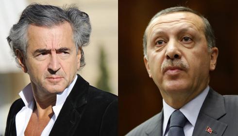 Bernard-Henri Lévy et Recep Tayyip Erdogan