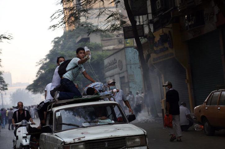 Le 16 août 2013, au Caire.