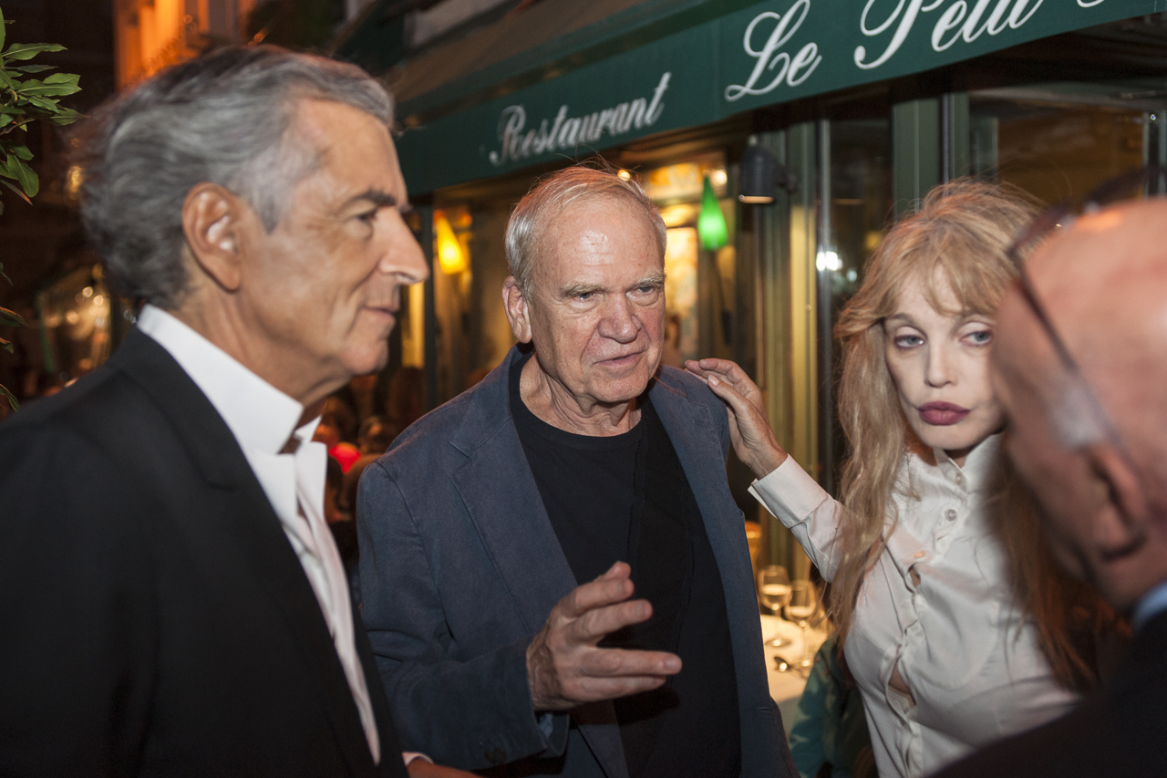 Bernard-Henri-Levy_Milan-Kundera_Arielle-Dombasle