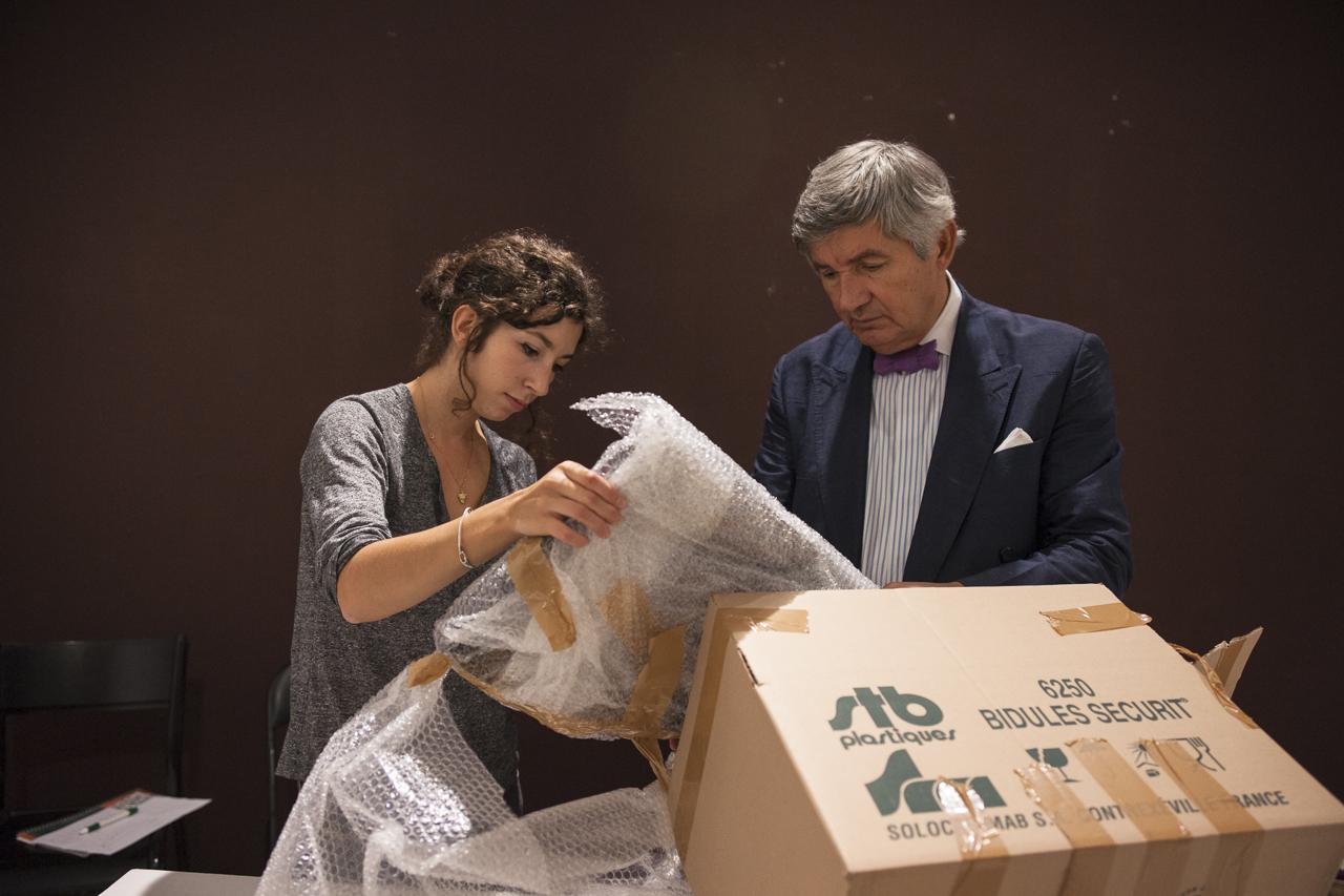 Léonore Chastagner et Ante Glibota. Photo : Yann Revol