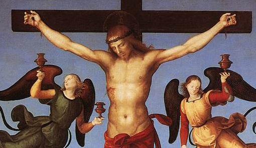 "Raffaello Sanzio, ""Crucifixion"", entre 1502 et 1503"