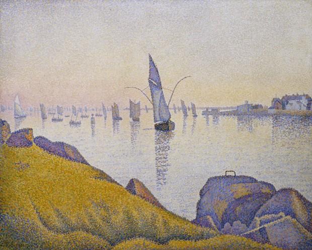 Concarneau. Calme du soir Opus 220 (allegro maestro), 1891, New York, Metropolitan Museum of Art.