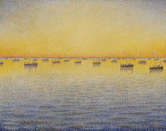 Concarneau. Pêche à la sardine Opus 221 (adagio), 1891, New York, Museum of Modern Art.