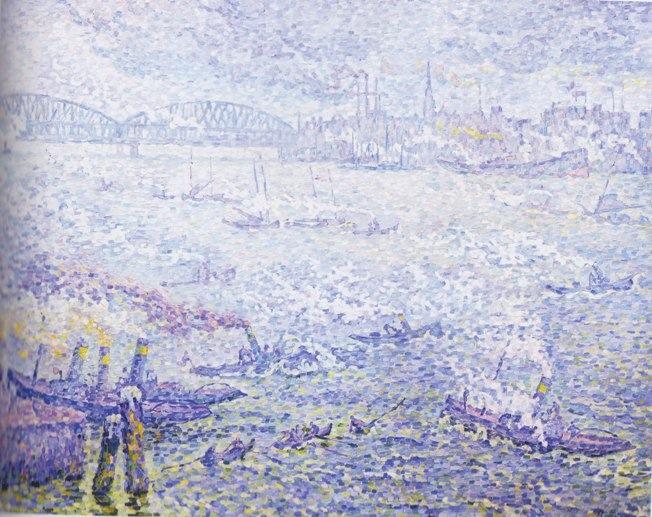 Rotterdam. Les fumées, 1906, Shimane Art Museum.