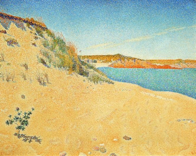 Saint-Briac. Le Port Hue Opus 212, 1890, Moscou, musée Pouchkine.