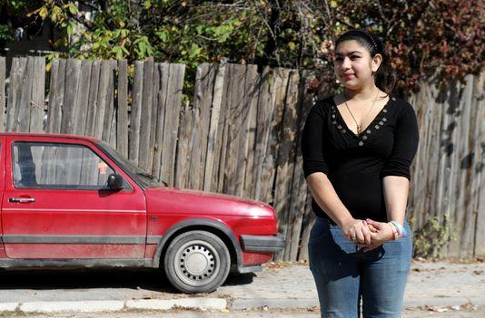 La jeune collégienne Leonarda Dibrani, expulsée de France le 9 octobre.