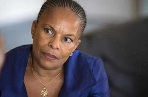 Christiane Taubira a été la cible de violentes attaques racistes ces derniers mois, lors des manifestations contre le mariage pour tous ou encore lorsqu'elle a été comparée à un singe par une élue FN.