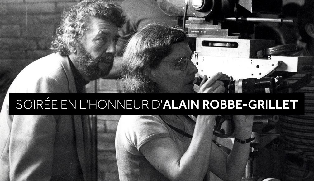 Alain et Catherine Robbe-Grillet © IMEC
