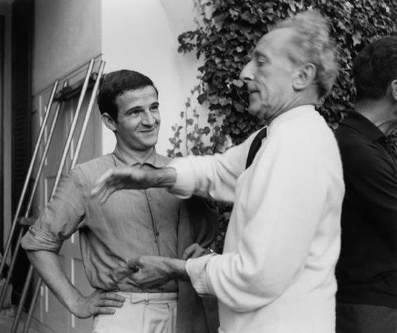 Truffaut et Cocteau