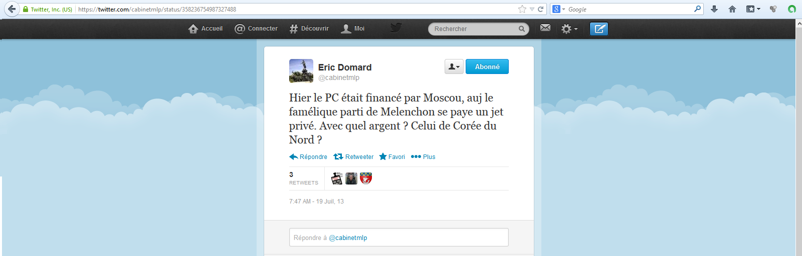 Eric-Domard-19-06-13-Melenchon-et-Coree-du-Nord