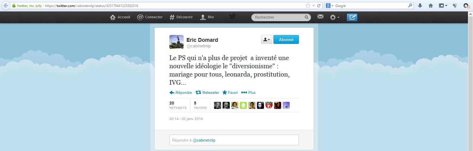 Eric-Domard-20-01-14-Le-PS-fait-diversion