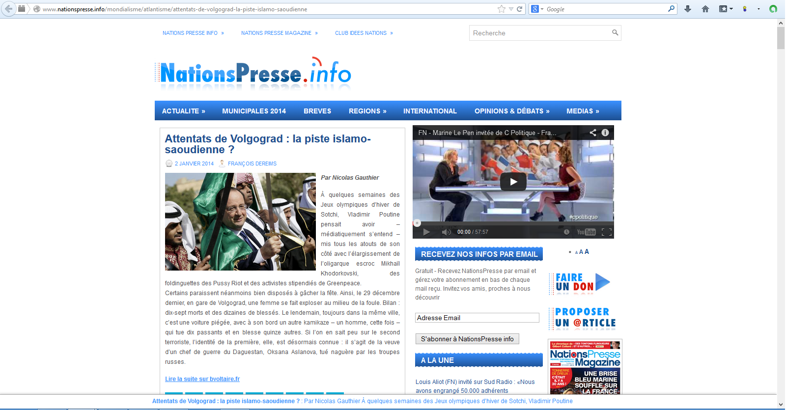 Nationspresse-Attentat-islamiste-Pussy-riot-et-Hollande