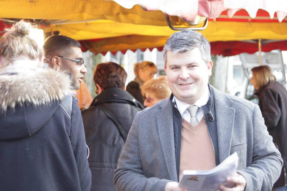 Gabriel de Peyrecave, candidat FN aux municipales à Saint-Etienne.