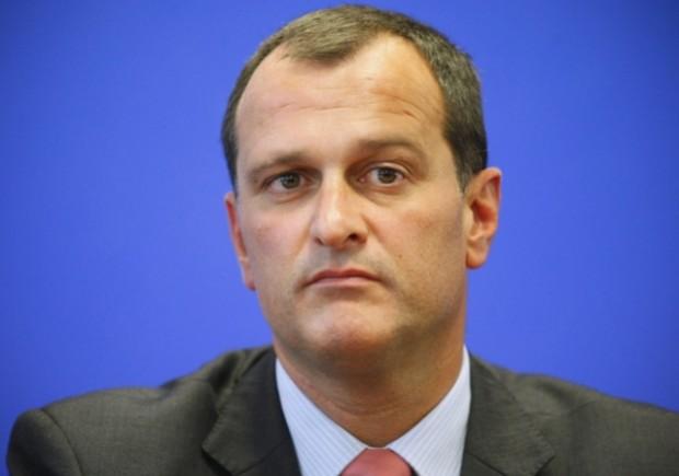 Louis Aliot, candidat Front National pour les élections municipales de Perpignan 2014