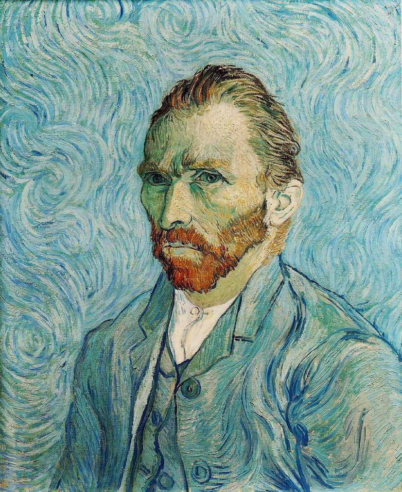 Autoportrait de Vincent van Gogh, 1889, Musée d'Orsay.