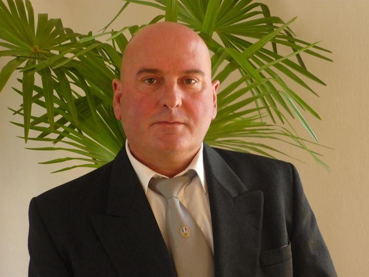 Didier Delelis, candidat FN aux municipales de Douvrin.