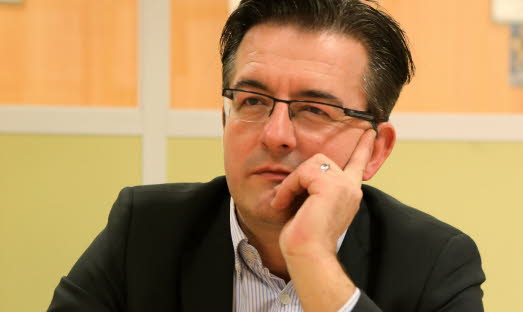 Philippe Lottiaux, candidat FN à Avignon.
