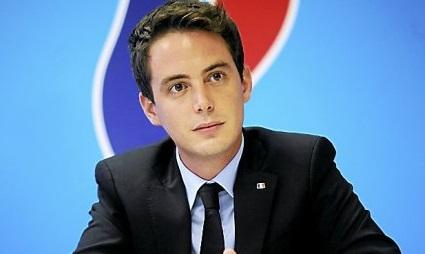Yoann Gillet, candidat FN à Nîmes. © Samuel Duplaix
