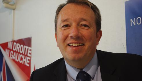 Christophe Boudot, candidat Front national aux élections municipales de la mairie de Lyon
