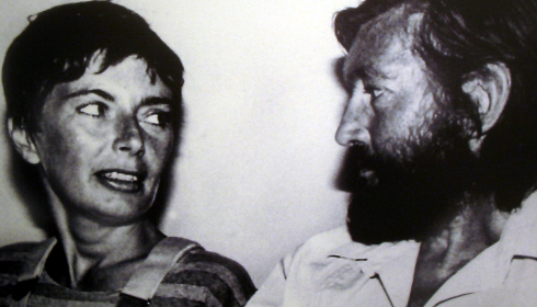 Julio Cortázar et Carol Dunlop