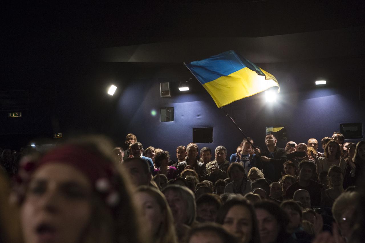 La délégation ukrainienne à Paris
