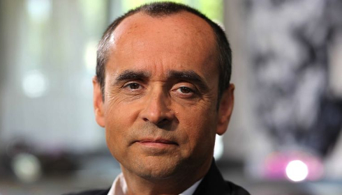 Robert Ménard, candidat Front national à la mairie de Béziers © CAPMAN/SIPA