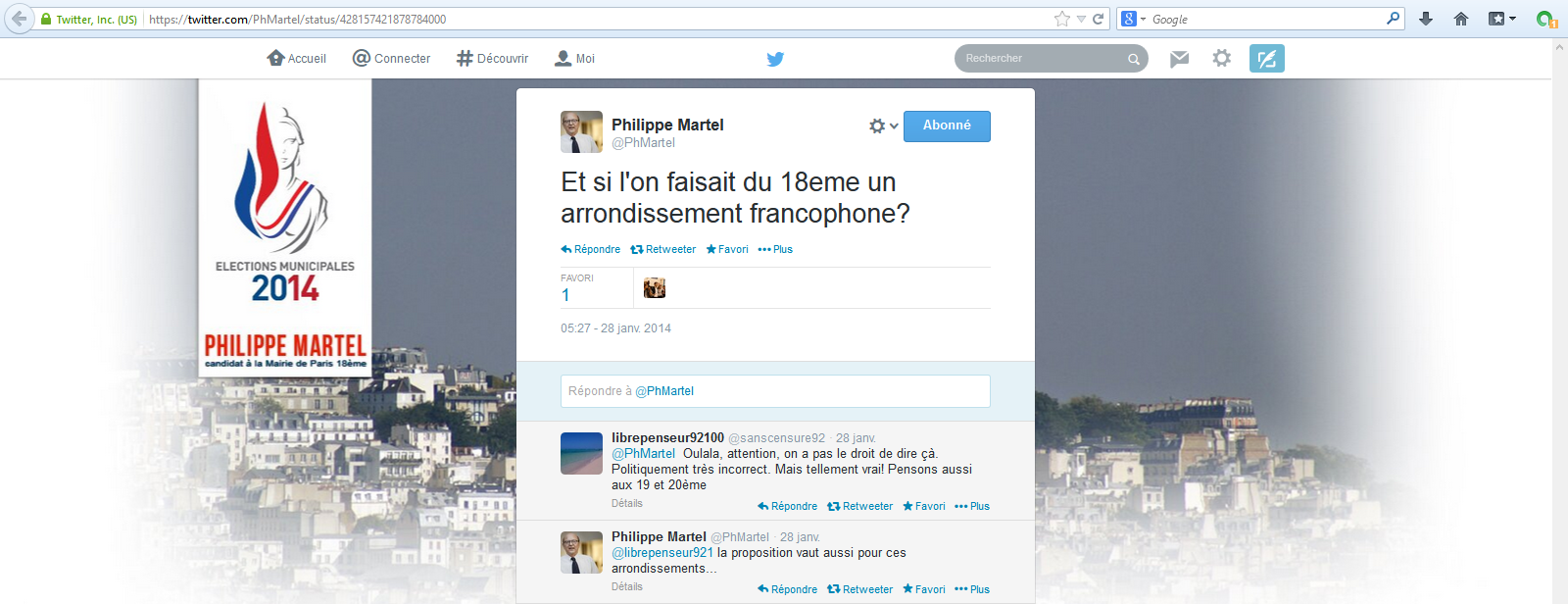 Philippe-Martel-18e-arrondissement-francophone