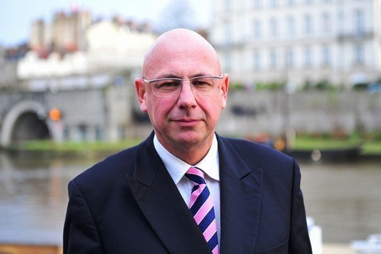 Christian Bouchet est le candidat FN à la mairie de Nantes. © DR