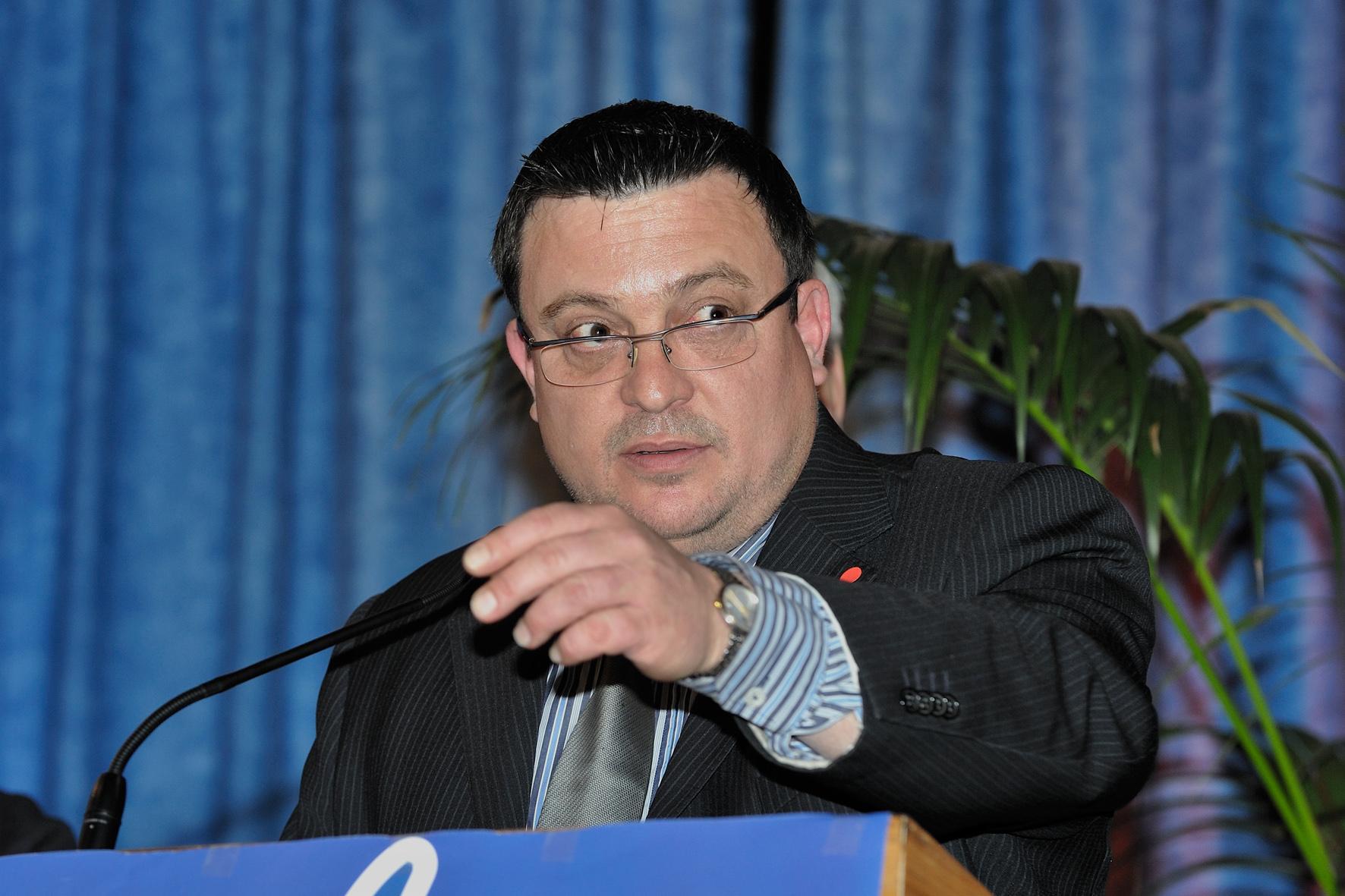 Dominique Martin, candidat FN à Cluses
