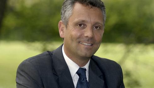 Hervé de Lépinau, candidat du Rassemblement bleu marine à Carpentras.