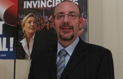 Nicolas Bailly, candidat FN à la mairie de Saint-Julien.